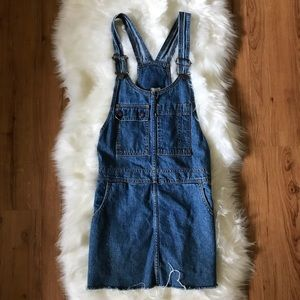 LEVIS VINTAGE DENIM OVERALL DRESS